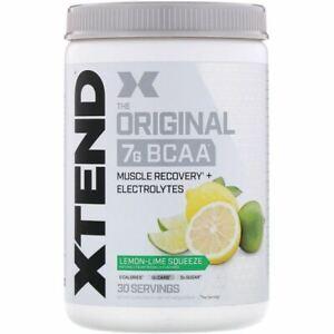 Scivation, Xtend, The Original 7 G BCAA, Lemon-Lime Squeeze, 14.8 oz (420 g)