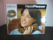New Homedics Neck pleaser Massager Leopard priny  NW-1AP  Cordless battery  op