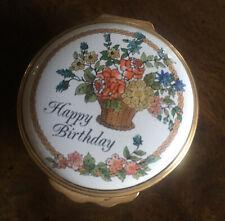 Halycon Days Happy Birthday Trinket Box Bilston & Battersea Florals