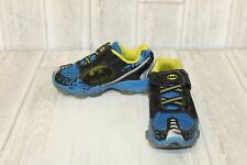 Stride Rite Batman Lighted Athletic Shoes - Boys' Size 10.5 M, Navy/Black