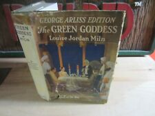 The Green Goddess George Arliss Edition by Miln Antique Hardcover Novel