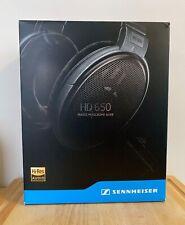 Sennheiser HD 650 Open Back Audiophile Headphones