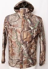 Columbia PHG Omni-Heat Real Tree Camo Brown Pockets Full Zip Jacket Men's M