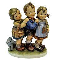 "GOEBEL M I HUMMEL Figurine, ""FOLLOW THE LEADER"" TMK-5, 7"""