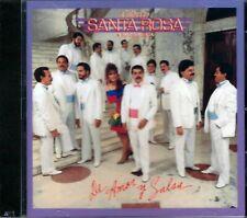GILBERTO SANTA ROSA CD DE AMOR Y SALSA COMBO RECORDS NEW AND SEALED