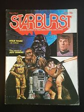 Starburst #1 - Science Fantasy in Televison, Cinema, Comix - Star Wars VG
