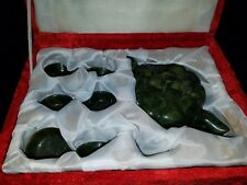 Chinese Jade or Stone Teapot Set.