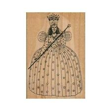 NEW Glinda The Good Witch RUBBER STAMP, Wizard of Oz Stamp, Halloween Stamp