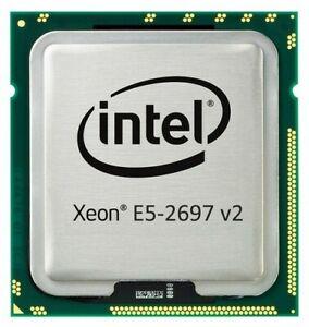 INTEL XEON E5 2697 V2 CPU PROCESSOR 12 CORE 2.70GHZ SR19H MAC PRO HP DELL 04