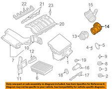 BMW OEM 01-06 325Ci 2.5L-L6 Air Cleaner Intake-Boot Hose Duct Tube 13541705209