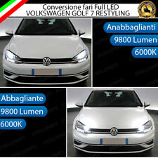 CONVERSIONE A LED VW GOLF 7.5 RESTYLING 19600 LUMEN CANBUS 6000K BIANCO