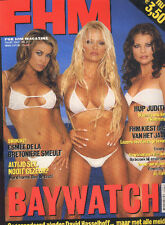 PAMELA ANDERSON sexy CARMEN ELECTRA YASMINE BLEETH BAYWATCH FHM magazine