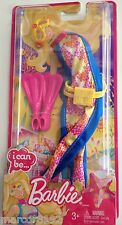 Barbie Doll Fashion I Can Be Marine Biologist Outfit W/ Swimming Flippers New