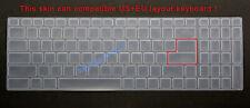 US Keyboard Skin Cover Protector MSI P75 GE65 GE75 GE73 GE73VR GL65 GL75 GS75