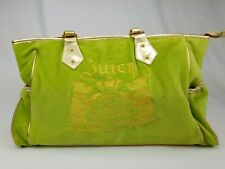 Juicy Couture Baby Diaper Bag green gold Large shoulder Bag
