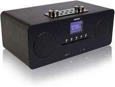 More details for dab+ & wifi internet radio & cd player denver mir-260 colour screen gloss black