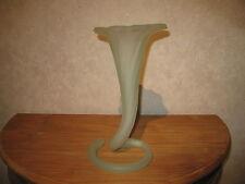 LAURA ITALY *NEW* Vase opaline 32cm vert green