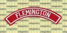 BSA RWS FLEMINGTON NEW JERSEY GEORGIA RED & WHITE COMMUNITY STRIP MINT!