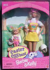 Barbie & Kelly EASTER EGG HUNT coffret paques 1997 Mattel 19014 Poupee DOLL NEUF