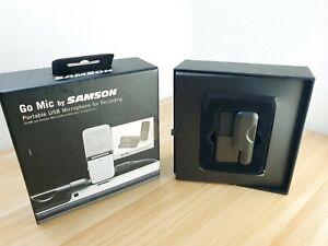 Samson Go Microphone Mic Portable Black Edition - Crisp Condition | used 1 hour