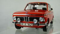 BMW 2002 TI 1971 VINTAGE 1:18 CLASSIC ORANGE BOXED COLLECTIBLE TOY MODEL CAR