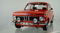 BMW 2002 TI 1971 VINTAGE 1:18 CLASSIC ORANGE BOXED COLLECTIBLE TOY MODEL CAR