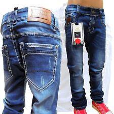 Restposten~H 1386~Chilong~Jungen Jeans KinderHose~Gr.122/128~Jeans-Fashion69~Neu