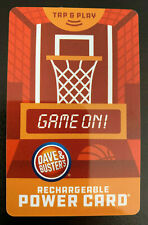 Dave And Busters Power Card w/ Over 10,000 Tickets ~ D & B (10,418) Prize Points