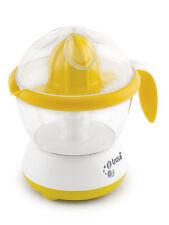 Electric Juicer Fruit Citrus Extractor 700ml 25W Ribera by Trevidea in Yellow