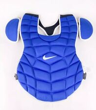 """Nike Authentic Baseball Catcher 17"""" Chest Protector Navy White PBP428-468 $200"""