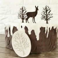 3D Tree Silicone Fondant Chocolate Cupcake Cake Decorating Baking Mould Mold HOT