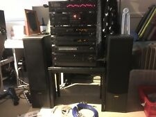 Yamaha amp/md/tuner/cd/tape/eq/speakers ax392/mdx595/cdx496/eq500 + remotes/man+