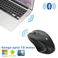 Bluetooth Wireless Mouse Optical  Mice USB Receiver For PC Laptop Computer Mac