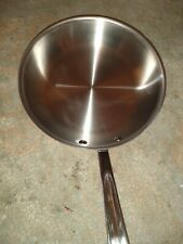 """New All-Clad d5 Stainless Steel 10"""" Fry Pan"""
