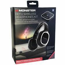 Monster HD TV Bluetooth Audio Transmitter & Headphones ™