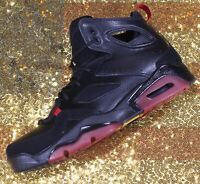 newest 22f11 f171b Nike Air Jordan Flight Club 91 Black Red VI 6 Basketball Shoes  555475-067