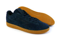 5adc88280d3 Reebok men s NPC UK GUM casual shoes sneakers Collegiate Navy Blue Gum size  11