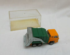Vintage Majorette No 218 Bernard Refuse Truck - Made In France - 1:100 Scale