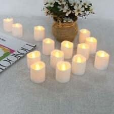 12pcs Fake Candles LED Flickering Tea Bulb Flameless Warm White Battery Operated