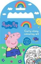 Peppa Pig Carry Along Colouring Set