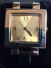 d207f5f7b6a Novo anúncio Relógio Quartz Feminino Avon Com Fino Preto Pulseira de couro  falso.