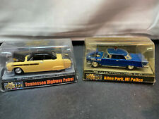 Racing Champions Tennessee Ford & Michigan Edsel State Police Car Diecast Lot