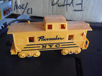 Vintage O Scale Marx Orange Pacemaker NYC Caboose Car