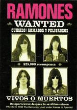 Ramones wanted Keyring Key fob Punk Sex Pistols
