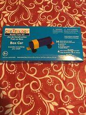 BRAND NEW Creatology Model Train Kit Wooden Craft BOX CAR FACTORY SEALED