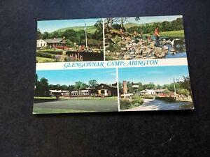 Glengonnar Boys Camp, Abington Lanarkshire, Vintage 1960s Postcard, Multi View.