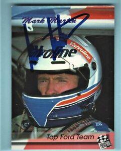 MARK MARTIN  -  AUTOGRAPHED - 1994 Press Pass - Card #121    [k15]
