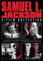 Samuel L. Jackson 4-Film Collection [New DVD] Gift Set