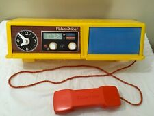 Vintage Fisher Price Fun With Food Kitchen REPLACEMENT PART Top Shelf W Phone