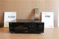 Sony TA-E1000ESD Preamplifier with Remote & Paperwork